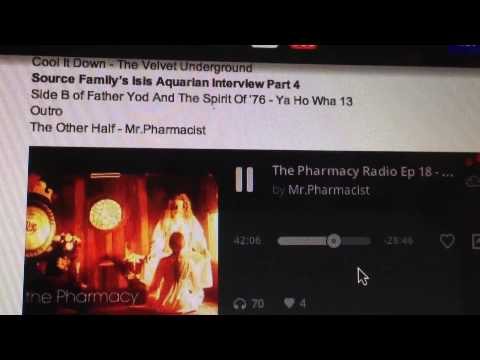 isis/gregg foreman interview..Dangerous mind/the Pharmacy radio show