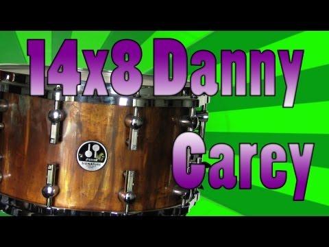 14x8 MODIFIED Sonor Danny Carey Signature Snare Drum - Snare Pimp Project Volume 4