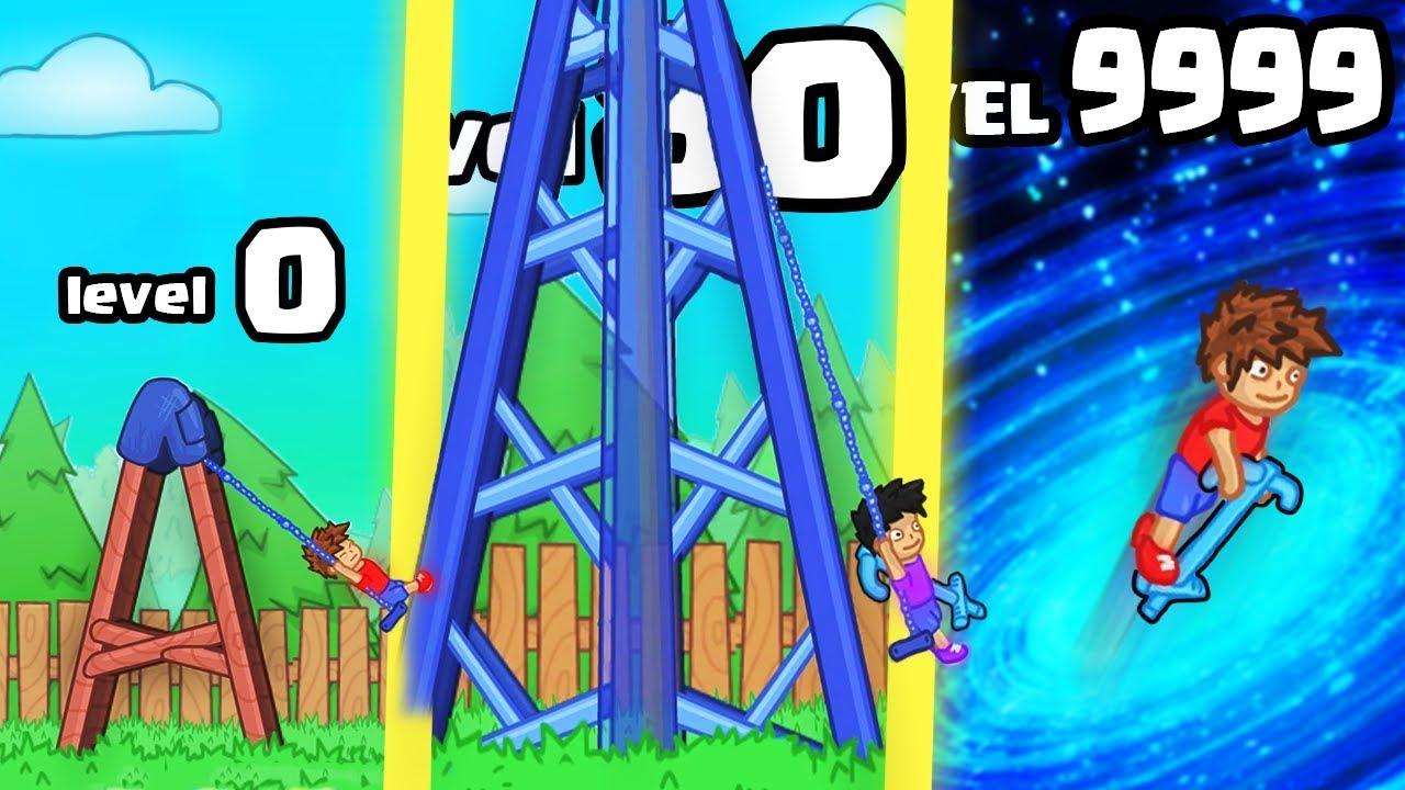 How High Is The Strongest Highest Pogo Swing Evolution 9999 Upgrade Level L Pogo Swing