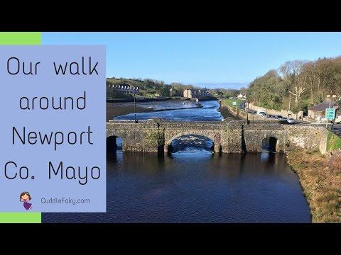 Our Walk Around Newport, Co  Mayo
