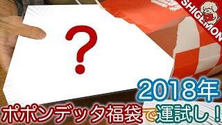 【謹賀新年】2018年の運試し!ポポンデッタの25,000円福袋を開封&中身チェック! / Nゲージ 鉄道模型【SHIGEMON】