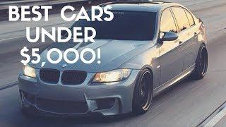 Best BMW Cars Under $5000