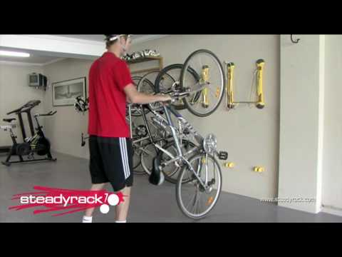 Wall Mounted Bike Rack Youtube