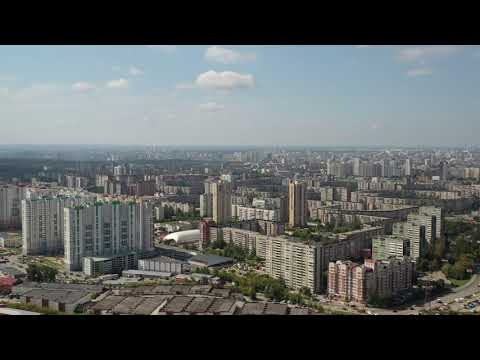 Екатеринбург - район ЖБИ (Комсомольский). Ekaterinburg - Komsomolsky.