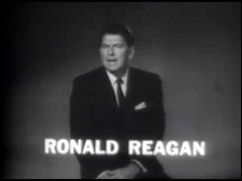 Ronald Reagan Endorses Barry Goldwater