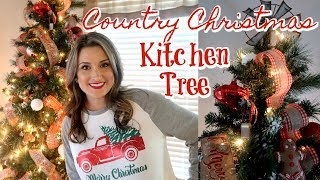 MY TIPS FOR CHRISTMAS TREE DECORATING | SIMPLE GINGERBREAD TREE | Cook Clean And Repeat