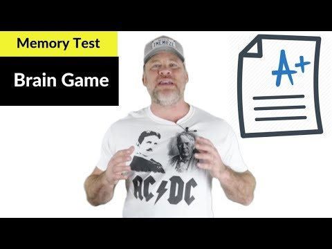 Memory Test // Brain Game to Improve Memory