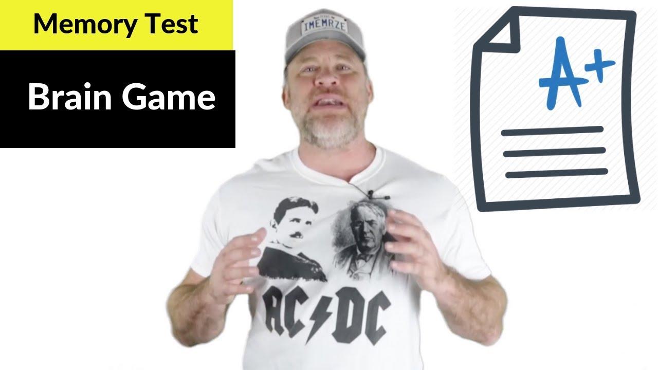 Memory Test // Brain Game to Improve Memory - YouTube