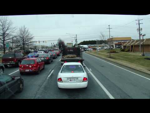 Driving In Bel Air, Maryland