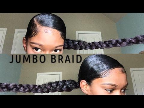 Halo braid ponytail