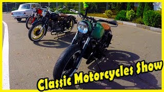 Best Classic Motorcycles Show. Coolest old Motorcycles from the 70s-80s.