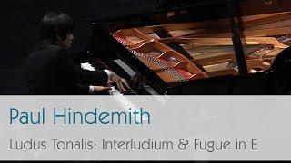 Paul Hindemith - Interludium & Fugue in E major from Ludus Tonalis