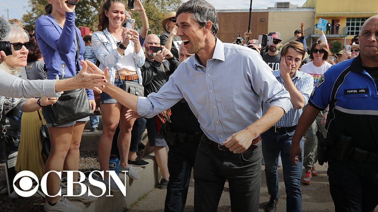 Beto O'Rourke running for president, El Paso TV station reports