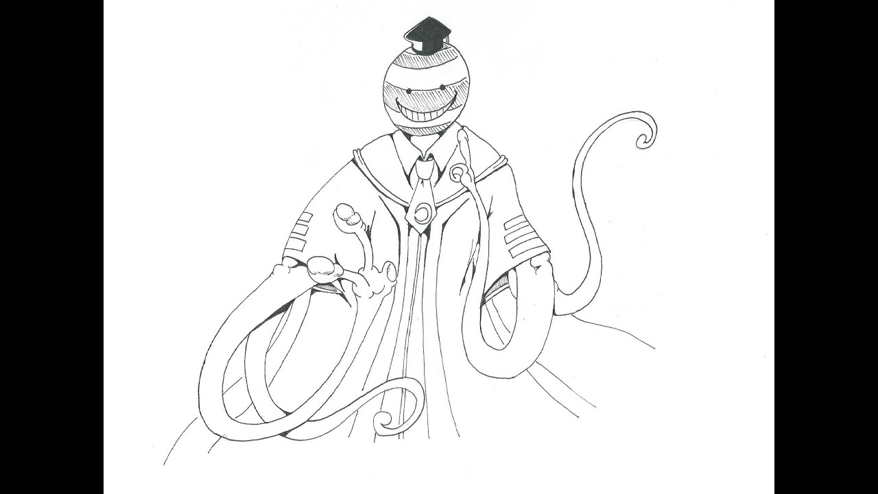Assassination Classroom Karma Coloring Pages. Nagisa