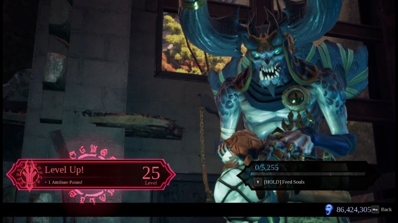 Darksiders 3 - Get Full Souls and Max Level in 5 minutes
