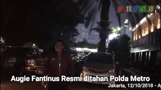 Augie Fantinus Resmi ditahan Polda Metro