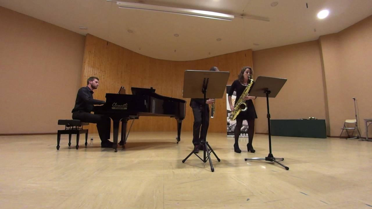 Trio en lam op 114 Brahms. Clara Arce, Antonio Felipe, Alberto García