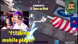 top 5 times a mobile player has destroyed a youtuber...(ninja, faze)