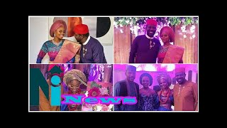 Adorable photos from actress Zainab Balogun's traditional wedding