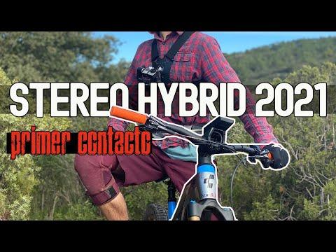 CUBE STEREO HYBRID 2021 , toma de contacto