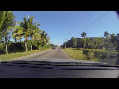 Driving in Cuba -  From Playa Larga to Caibairen