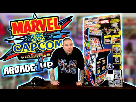 ARCADE1UP Marvel VS Capcom REVIEW from Gem Mint Collectibles