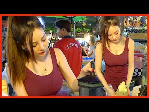 Look!! What I've found Who Makes Melon Smoothie - Dessert Drink Street Food Girl