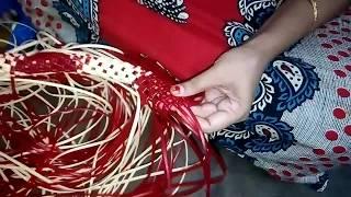 cross cut koodai - Full Video - குறுக்கு முடிச்சு கூடை போடுவது எப்படி