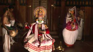 Kathakali schmink and dance