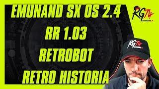 Emunand SX OS 2.4 - RR 1.03 - RetroBot Twitch - Quiz - Q & A