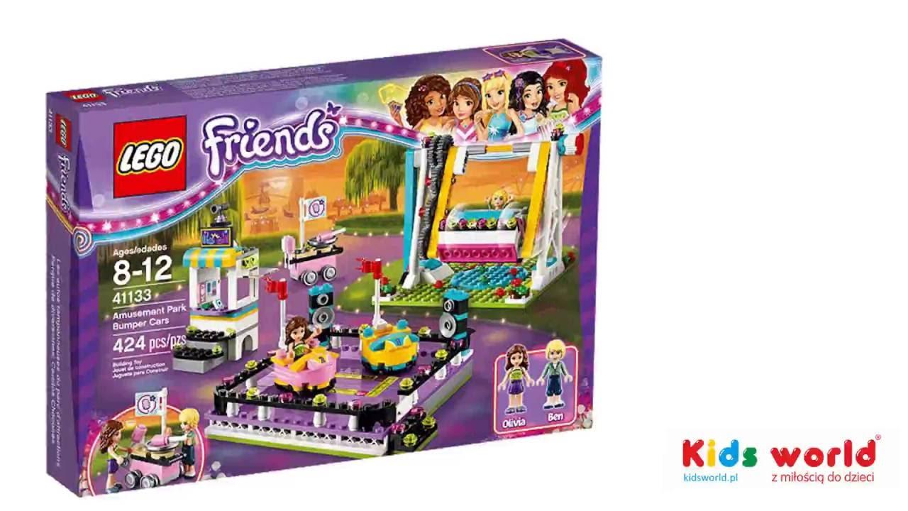 Klocki Lego Friends 41133 Autka W Parku Rozrywki Youtube