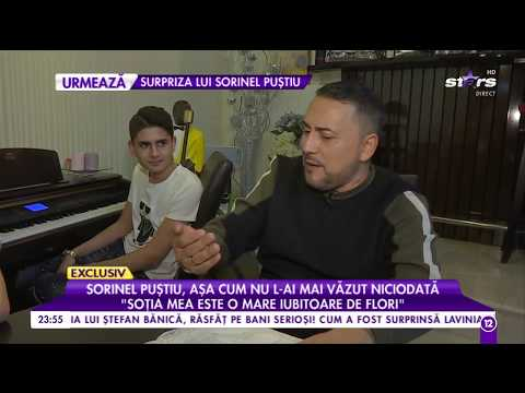Interviu de colecție cu familia lui Sorinel Puștiu