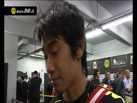 BVB - Manchester City: Interview mit Shinji Kagawa