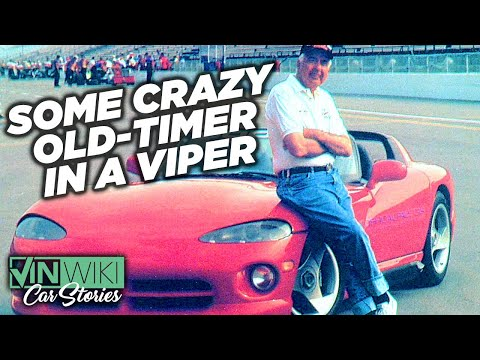 The time Carroll Shelby tried to kill me in a Dodge Viper