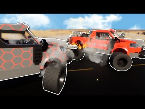 LEGO DEATH RACE!? - Brick Rigs Multiplayer Gameplay - Lego Racing Game