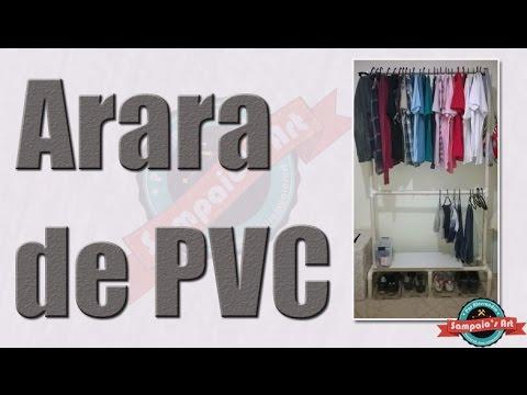 Como Fazer a Arara de PVC