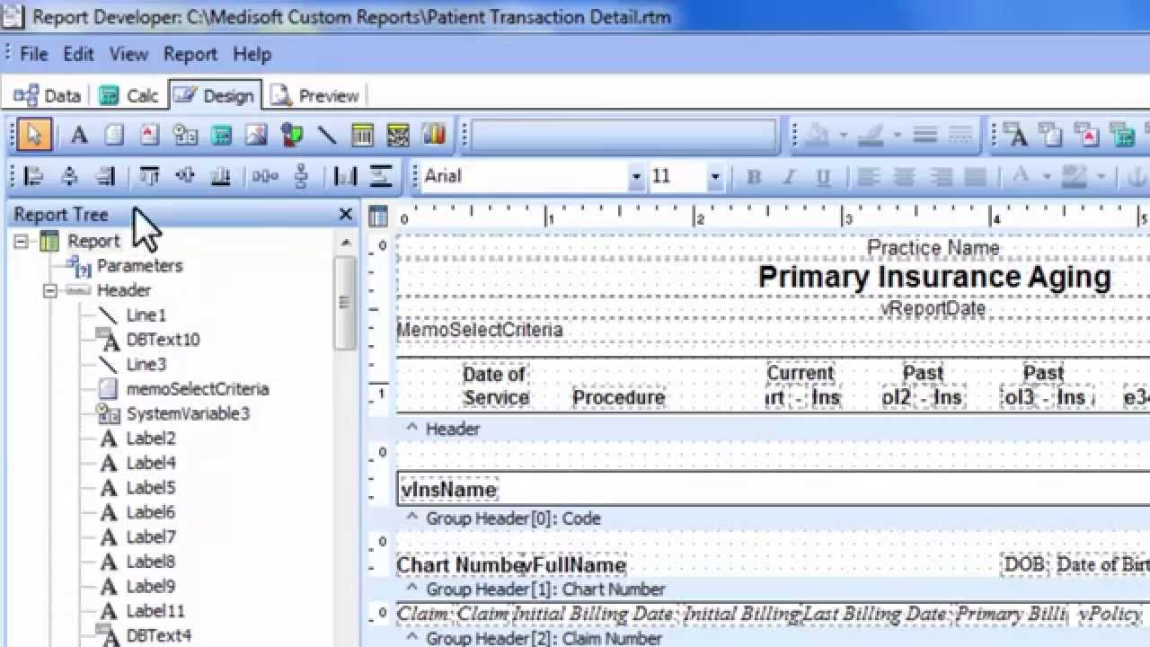 How To Add A Filter Medisoft Report