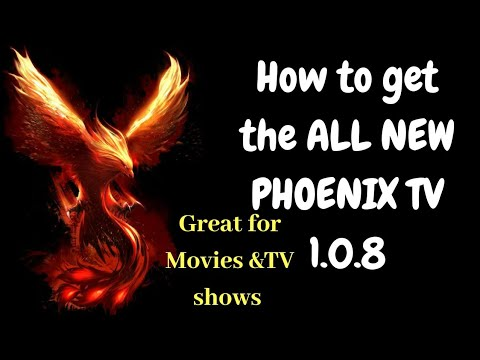 How To Get And Use The New Phoenix TV 1.0.8(UPDATED)
