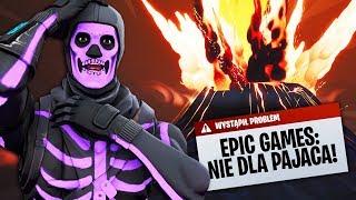 """TILTED TOWERES """"ZNISZCZONE""""! EPIC GAMES ZABLOKOWAŁO MI EVENT w Fortnite!"""