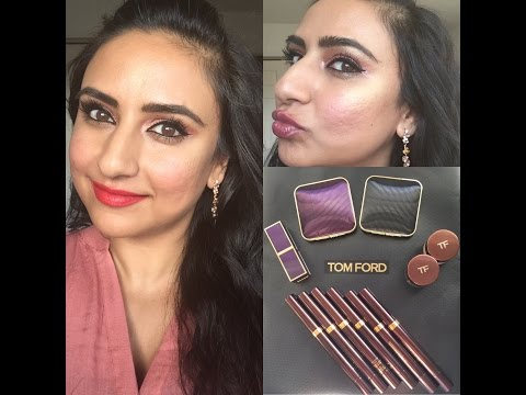 NEW Tom Ford Orchid Collection & Fall AW 2016 Collection: Swatches & Review