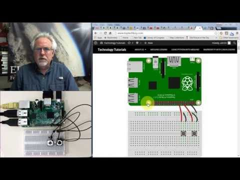 Raspberry Pi LESSON 29: Using GPIO pins as Inputs and Readin