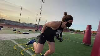 Texas Elite Women's Football Workout