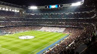 Hala Madrid y nada mas - Santiago Bernabeu Real Madrid - PSG  2017/18  Champions League