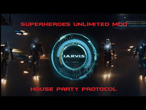Superheroes Unlimited Mod V4.3.2: Update 7 (House Party Protocol and JARVIS Tutorial)