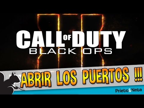 how to open nat for black ops 2 pc