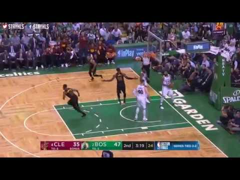 Cleveland Cavaliers vs Boston Celtics 1st Half Highlights   Game 5   2018 NBA Playoffs
