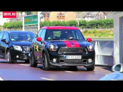 2012 Mini JCW Countryman — За кадром