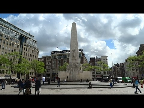 Nationaal Monument op de Dam Amsterdam - YouTube