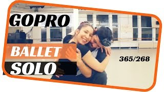GoPro ballet- Male dance solo- dancing everyday 365 ballets-ballet 270