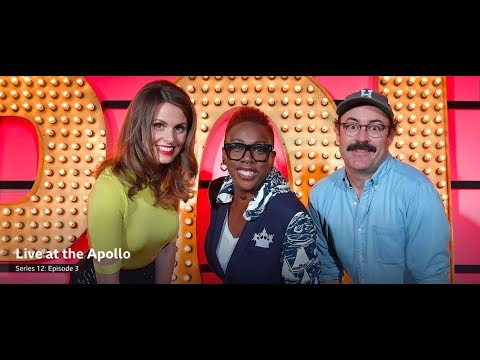 Live at the Apollo, S12 E3. Gina Yashere, Sam Simmons, Ellie Taylor. Nov 2016